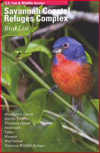 Savannah National Wildlife Refuge 2011 Bird List Cover