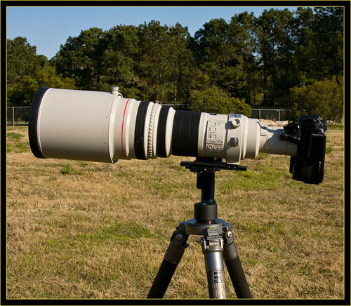 Canon Telephoto EF-600mm f/4.0L IS Lens