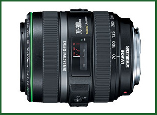 70~300 f/4.5-5.6 Diffractive Optics with Image Stabilization
