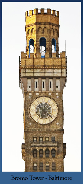 Bromo Seltzer Tower in Baltimore