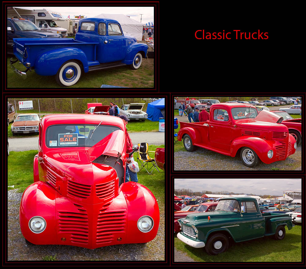Some of the Vintage Trucks