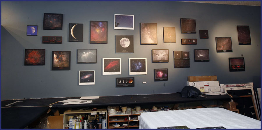 The Astronomy Wall at CBF