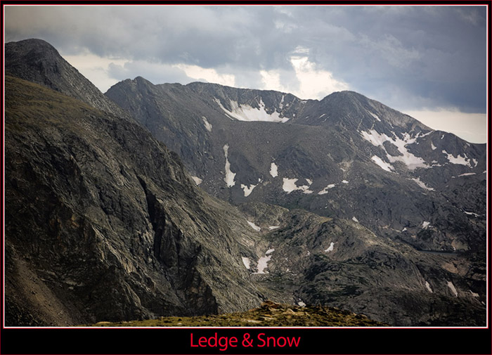 August Snow in the Rocky Mountains