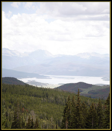 Looking Down the Mountain