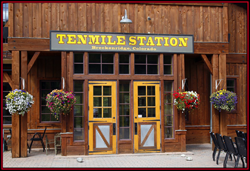 Patio Side of Ten Mile Station