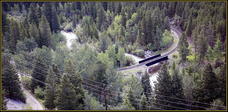 Scenery Along I-70 East