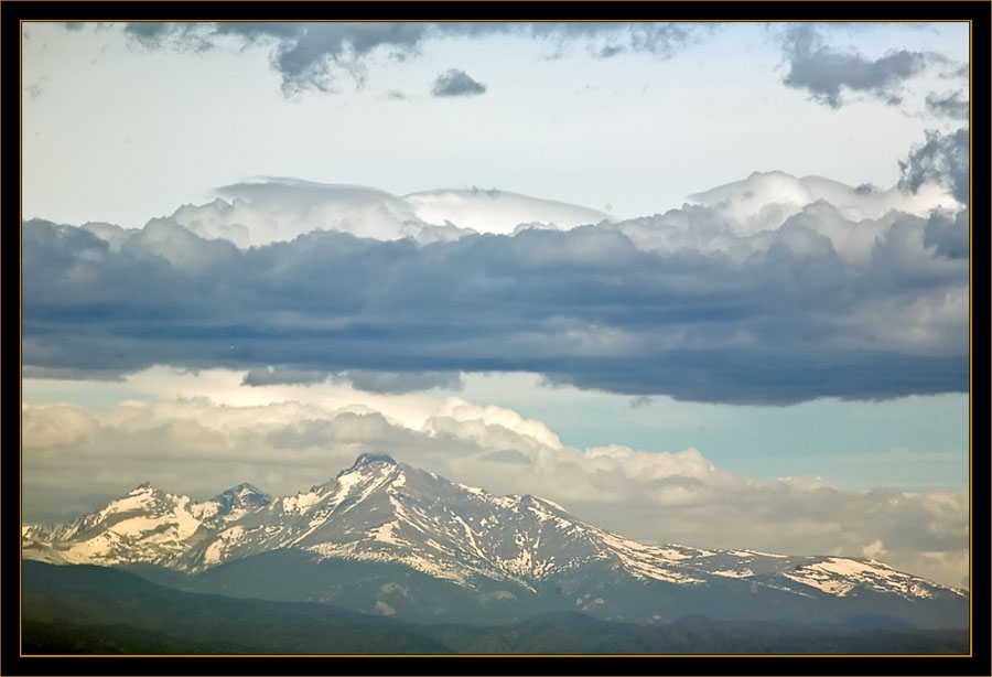 Mountains & Sky - Rocky Mountain Arsenal National Wildlife Refuge