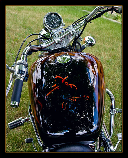Kelley Ray's Motorcycle