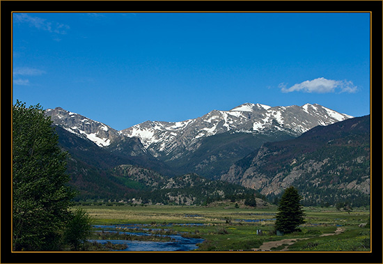 Scenic View - Rocky Mountain National Park