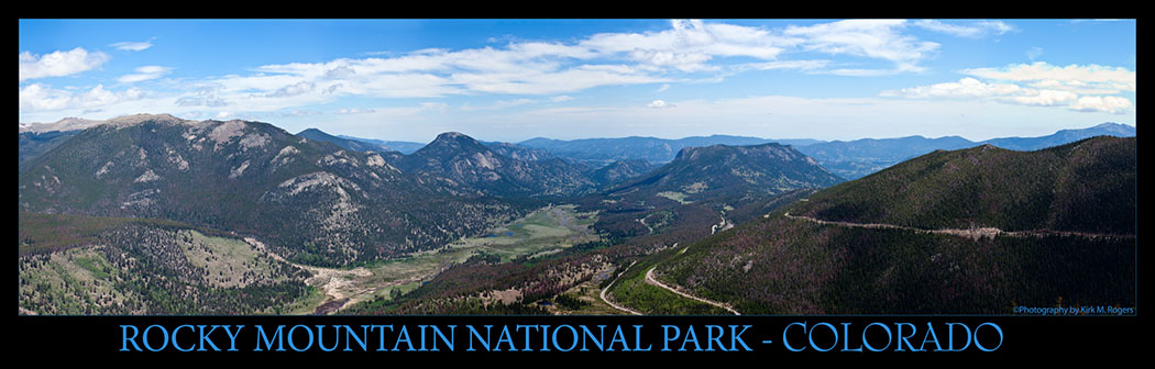 Composite Scenic View - Rocky Mountain National Park