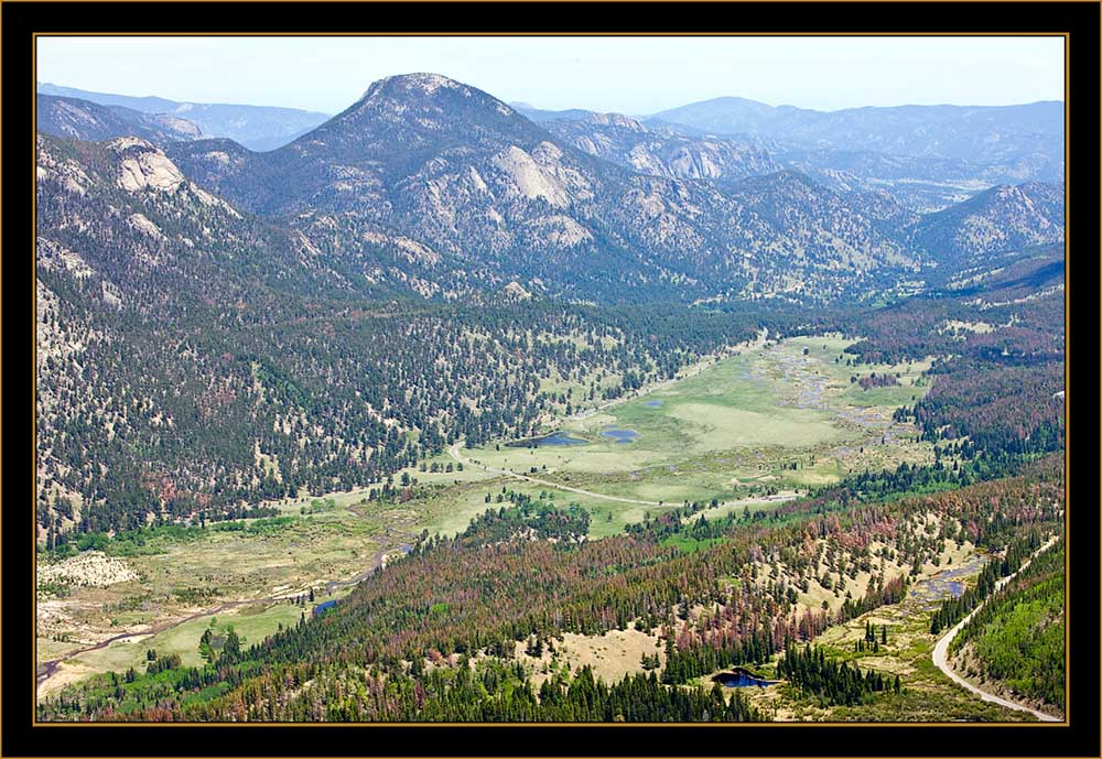 Scenic Overview- Rocky Mountain National Park