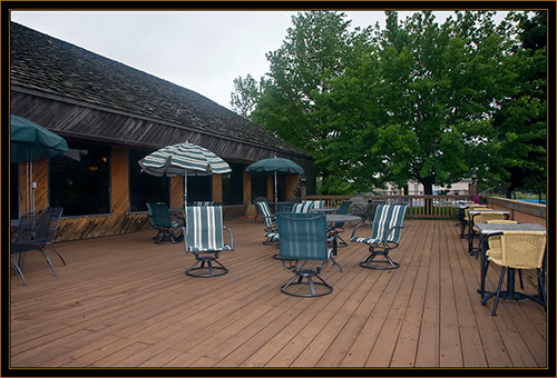 View of Deck Area - Margie's Bar and Grill - North Platte, Nebraska