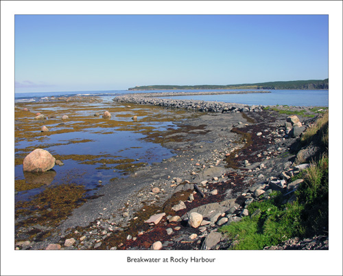 Breakwater at Rocky Harbour