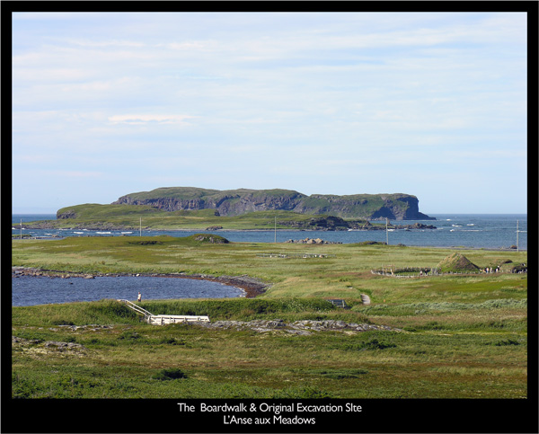Boardwalk at L'Anse aux Meadows