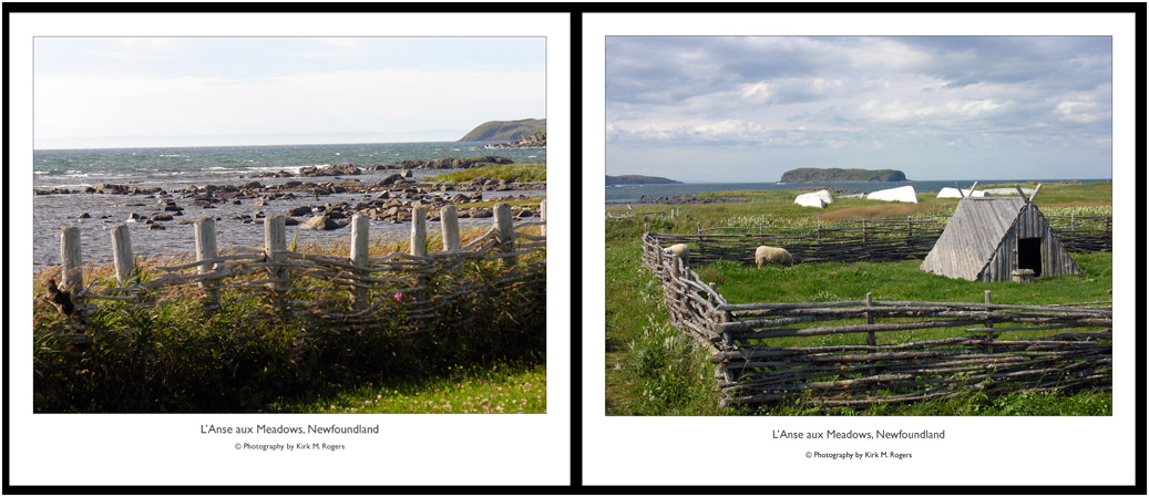 Ocean views at L'Anse aux Meadows
