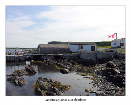 Landing at L'Anse aux Meadows