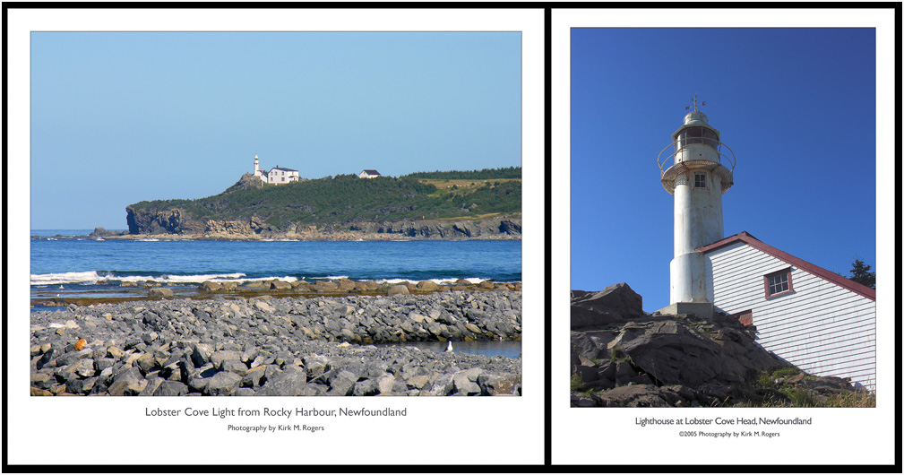 The Light at Lobster Cove Head