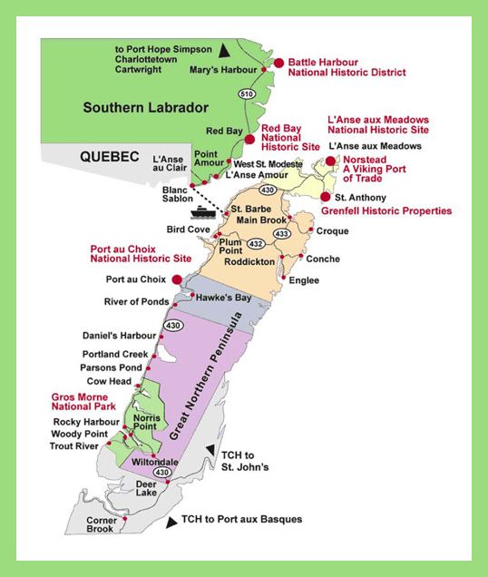 Viking Trail, Newfoundland