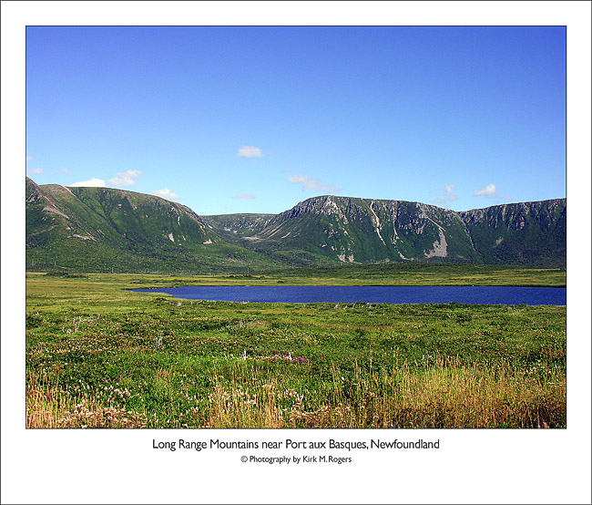 Long Range Mountains