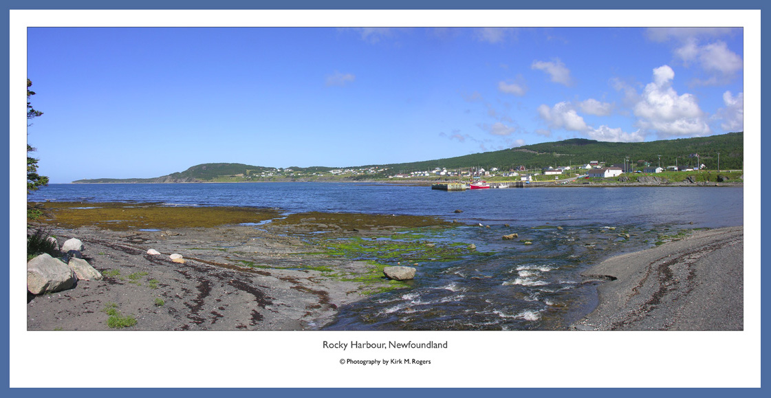 Rocky Harbour Panoramic