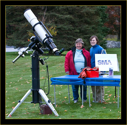 Joan & Eric on the Telescope Field
