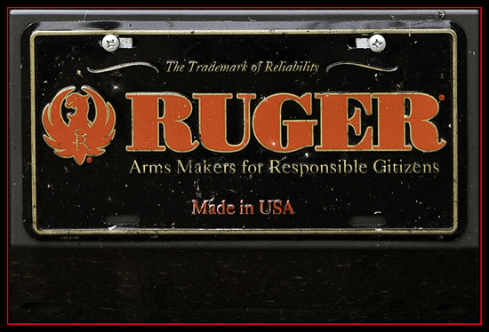 Ruger - The Pierce Couny (Georgia) Equalizer