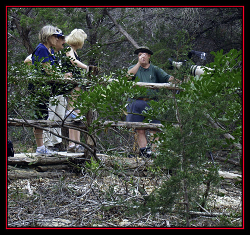 Birders in the Field - Friedrich Wilderness Park - San Antonio, Texas