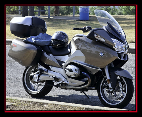 Rented BMW R1200 RT