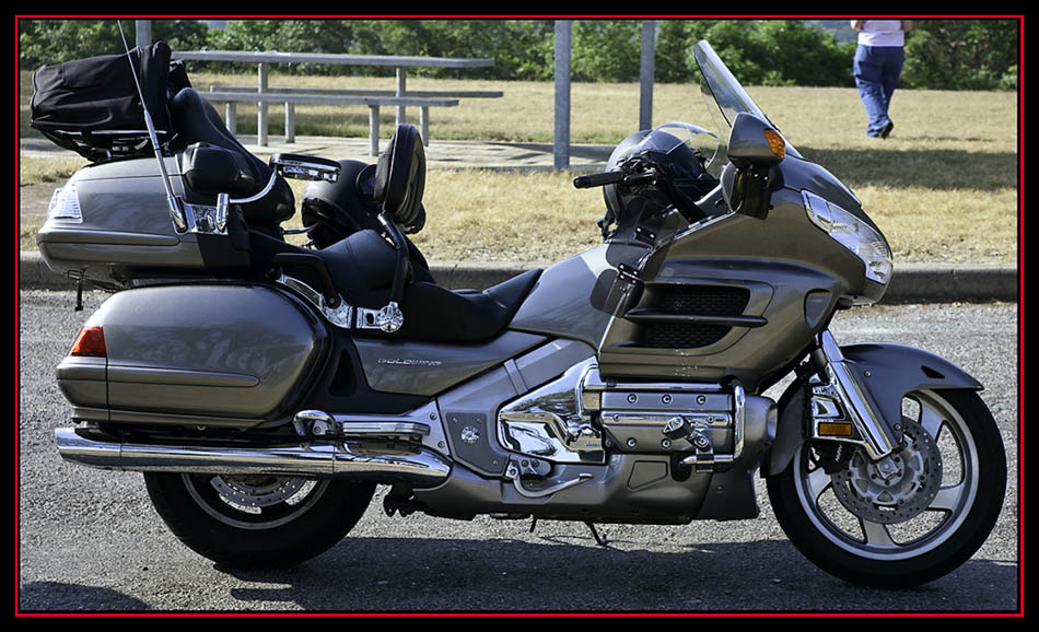 Dennis and Barbara's Honda Gold Wing