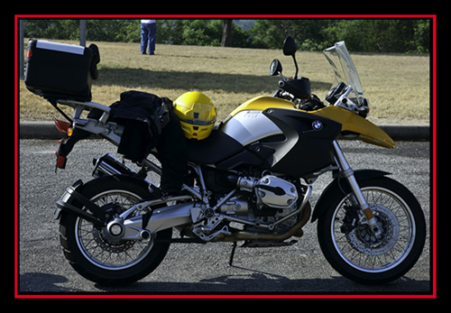 Rented BMW R1200 GS