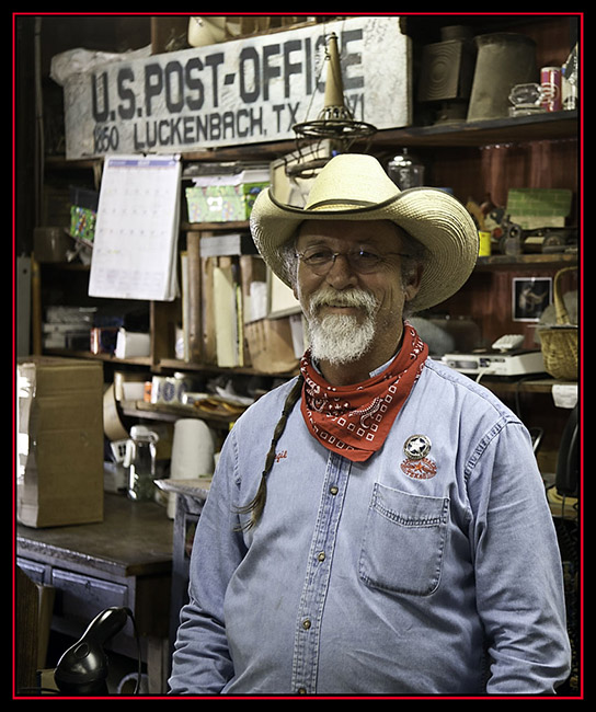 The Sheriff - Luckenbach, Texas