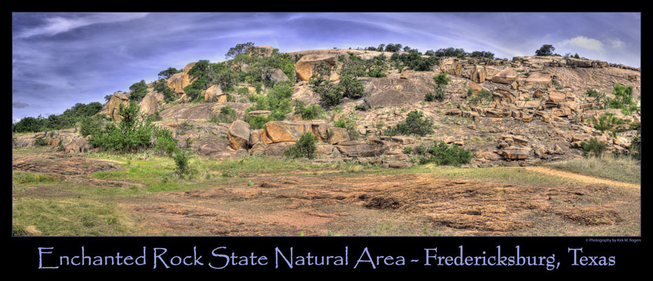 View at Enchanted Rock State Natural Area - Fredericksburg, Texas