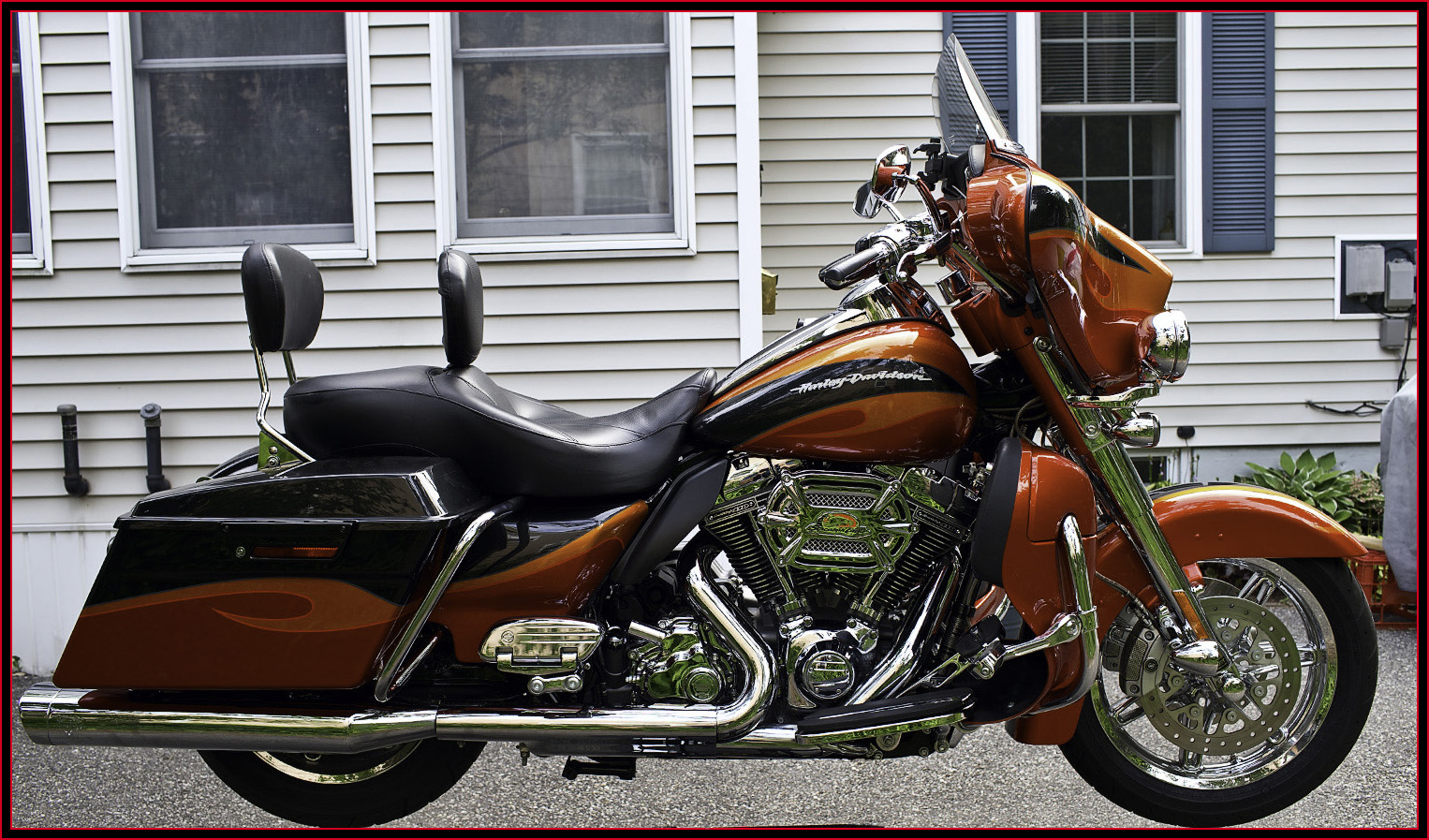 AstroPhotography by Kirk Rogers -- Writings - My Harley-Davidson