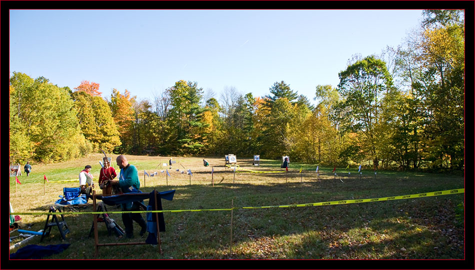Overview of the Archery Range