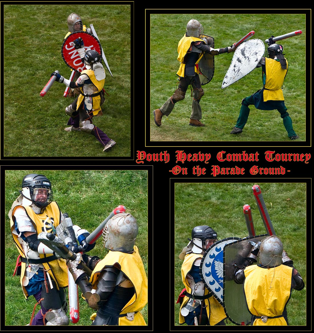 Youth Heavy Combat Demonstration