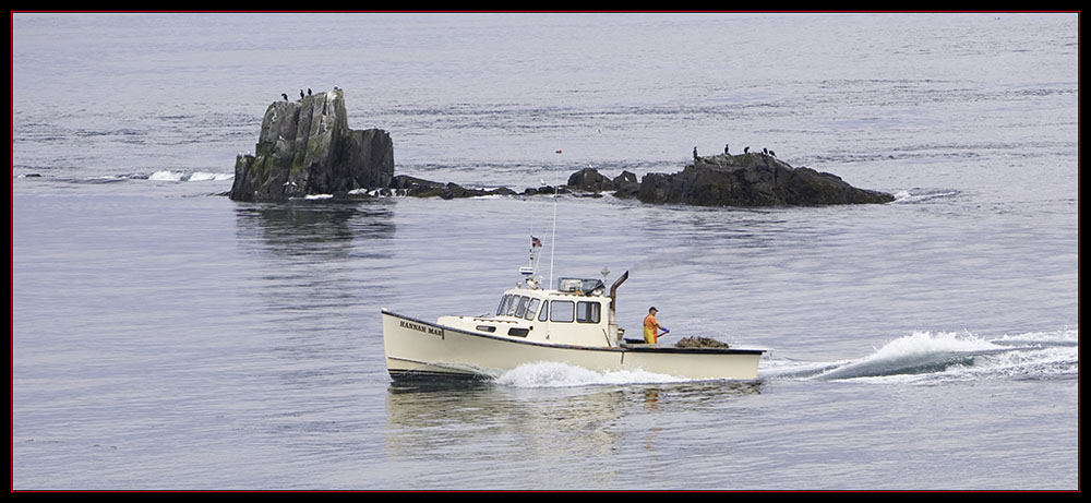 Lobstering off West Quoddy