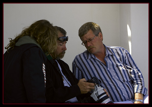 Loretta & Kevin Reviewing Durlan's Humpback Images