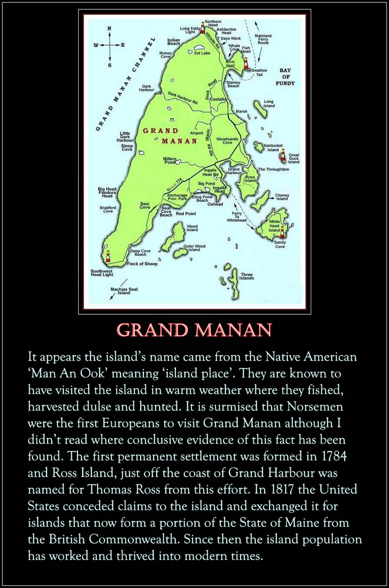 The Island of Grand Manan