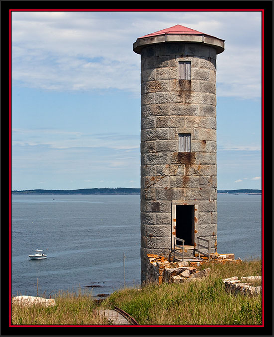 View of North Tower Looking Seaward - Maine Coastal Islands National Wildlife Refuge