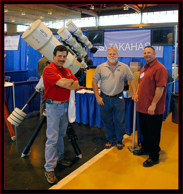 Some of the SMA crew at the Tak display with Steve