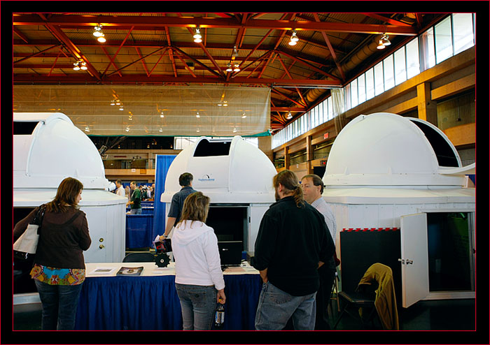 Domes on display
