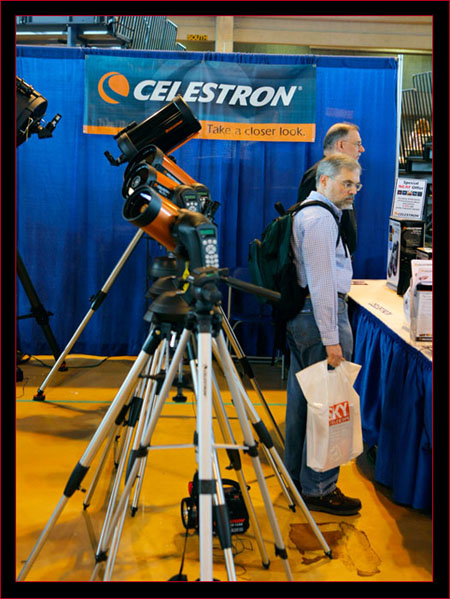 The Celestron Exhibit