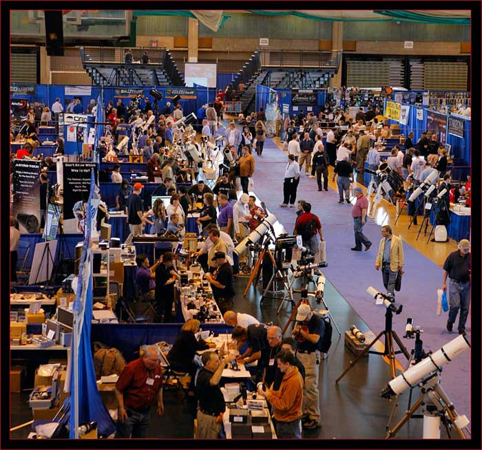 View on the exhibit floor
