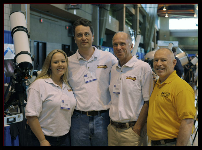 Ron with Lunt Solar Systems staff