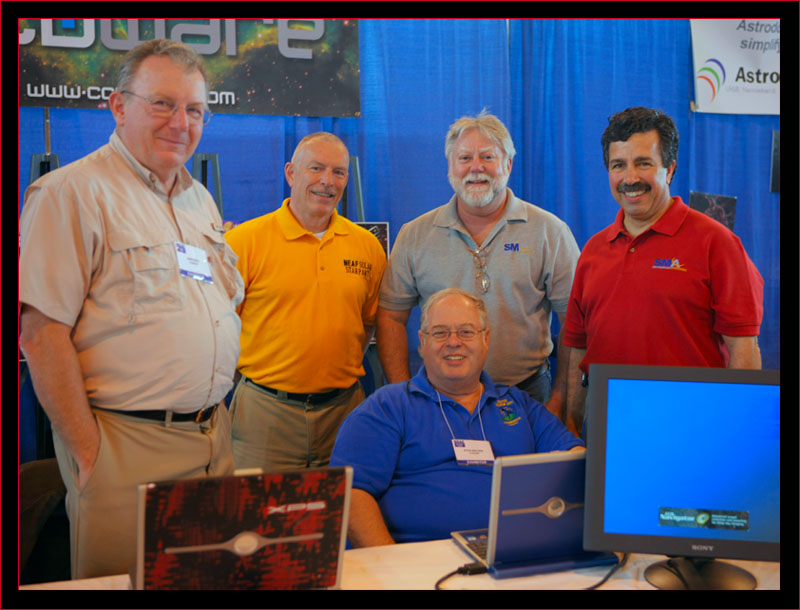 Our crew at the CCDWare exhibit