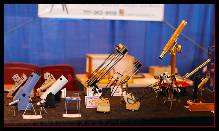 all kinds of telescopes