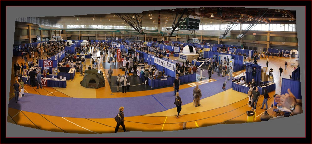 Composite view, NEAF 2008 Exhibit Floor