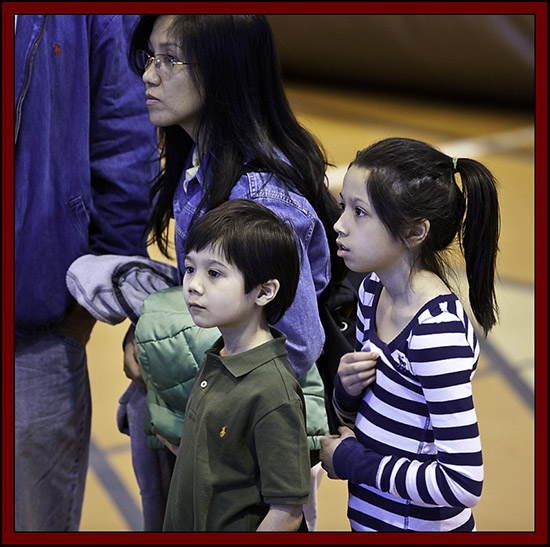 Family at the Kid's Corner - NEAF 2011