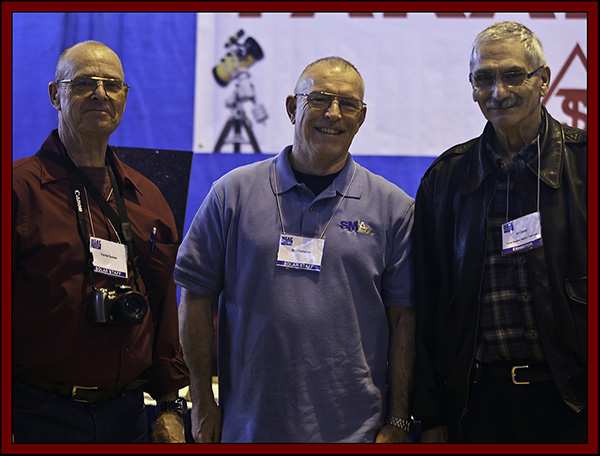 Forrest, Ron and Art at the Texas Nautical Booth - NEAF 2011...
