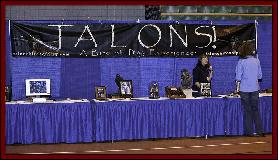 Talons! A Bird of Prey Experience - NEAF 2011...